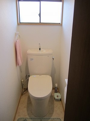 トイレ改修工事後