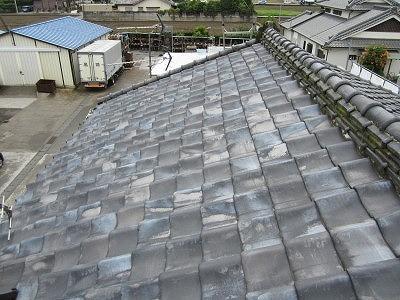 既存瓦屋根
